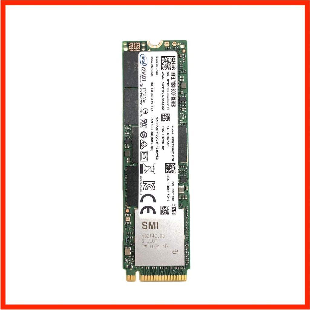 Intel SSD 512G