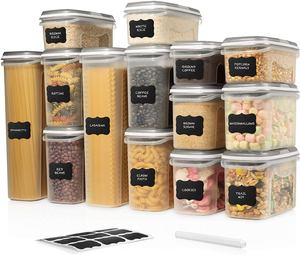 LARGE SET 28 pc Airtight Food Storage Containers