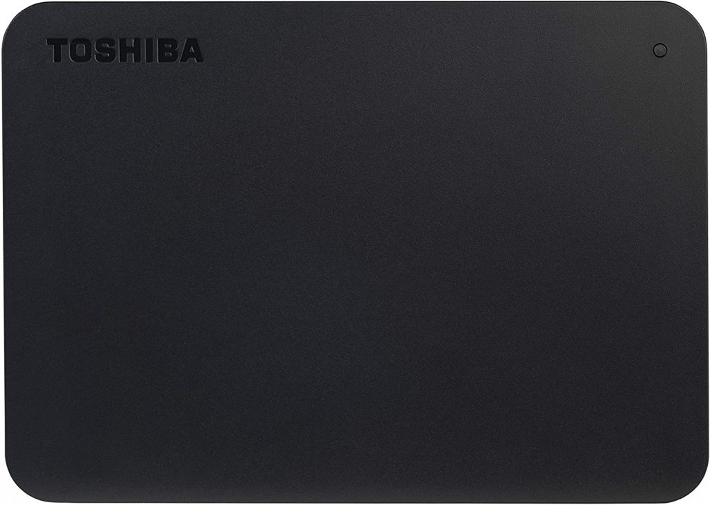 Toshiba (HDTB440XK3CA) Canvio Basics 4TB Portable External Hard Drive