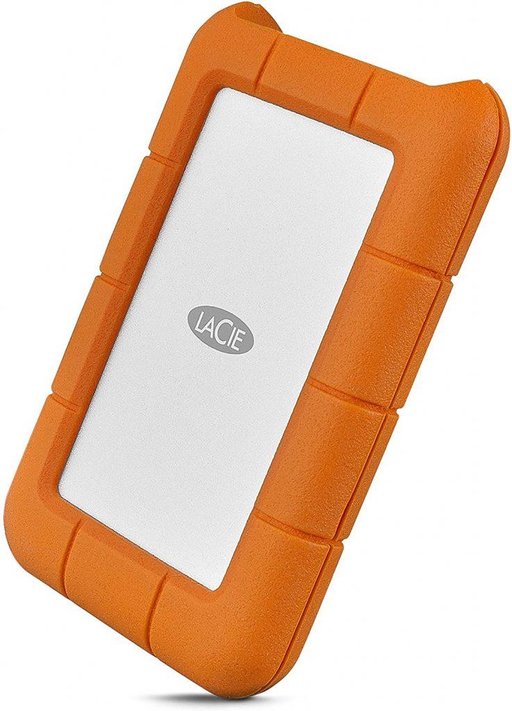 LaCie Rugged USB-C 5TB External Hard Drive Portable HDD