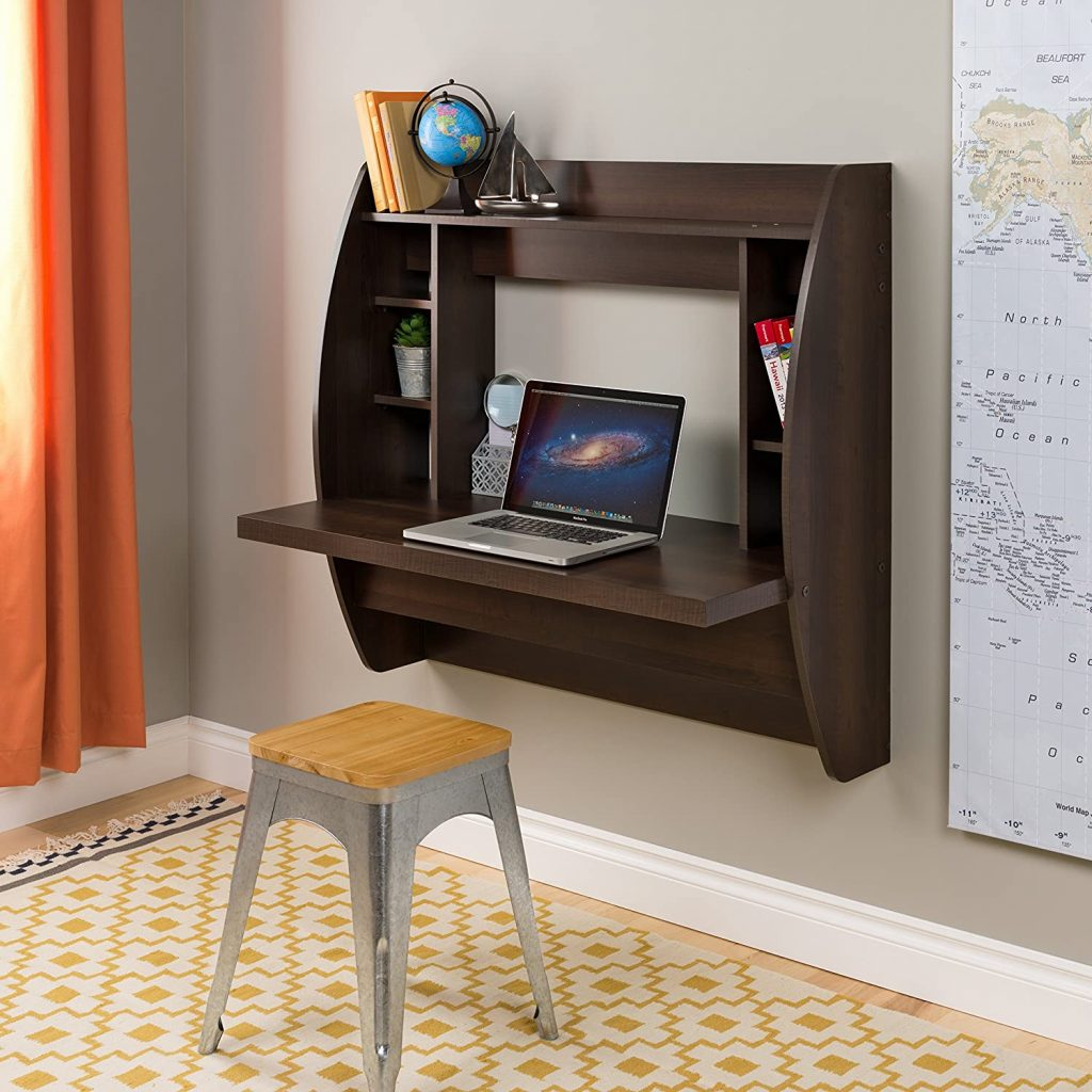 Mounted Floating Desk