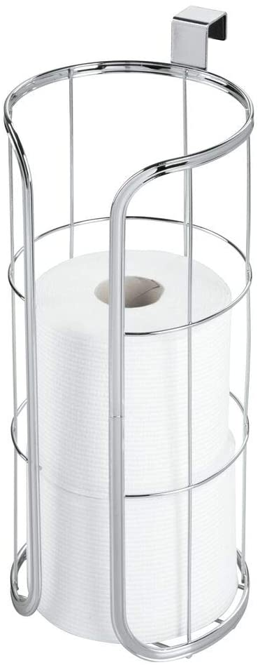 mDesign Modern Hanging Toilet Roll Holder