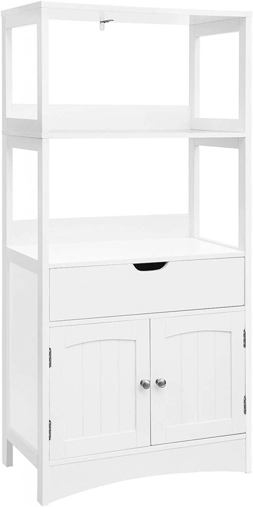 VASAGLE Bathroom Storage Cabinet with Drawer