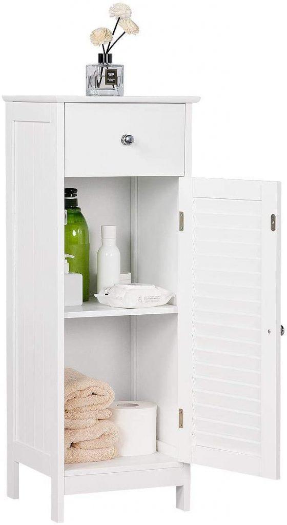 Yaheetech Bathroom Floor Storage Cabinet