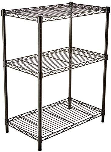 AmazonBasics 3-Shelf Shelving Storage Unit