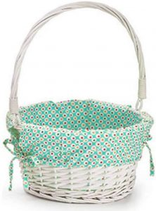 Dibsies Colorful Dots Easter Basket