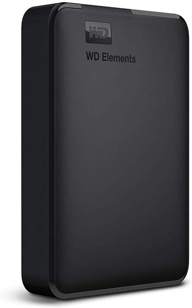 WD 4TB Elements Portable External Hard Drive USB 3.0