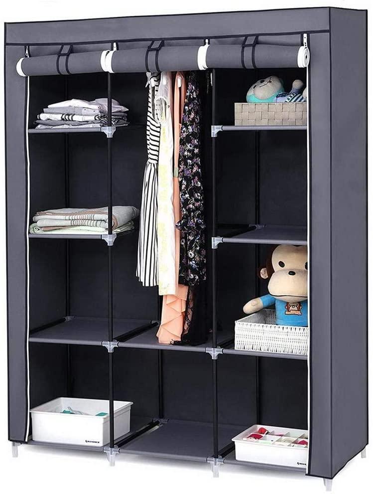 "Housesczar 67"" portable cabinet storage cabinet"