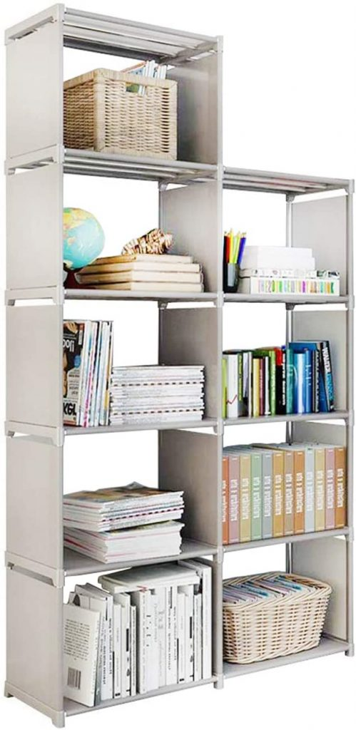 Storage Cubes, 4 Tire Shelving Bookcase Cabinet
