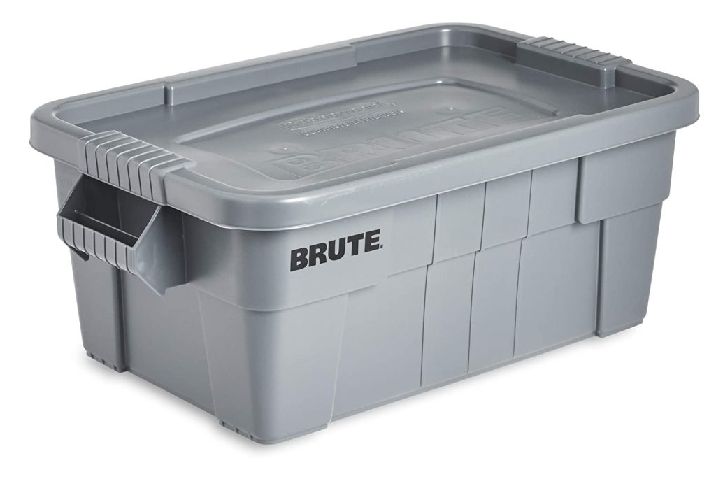 Rubbermaid Commercial Products Brute Tote Storage Container