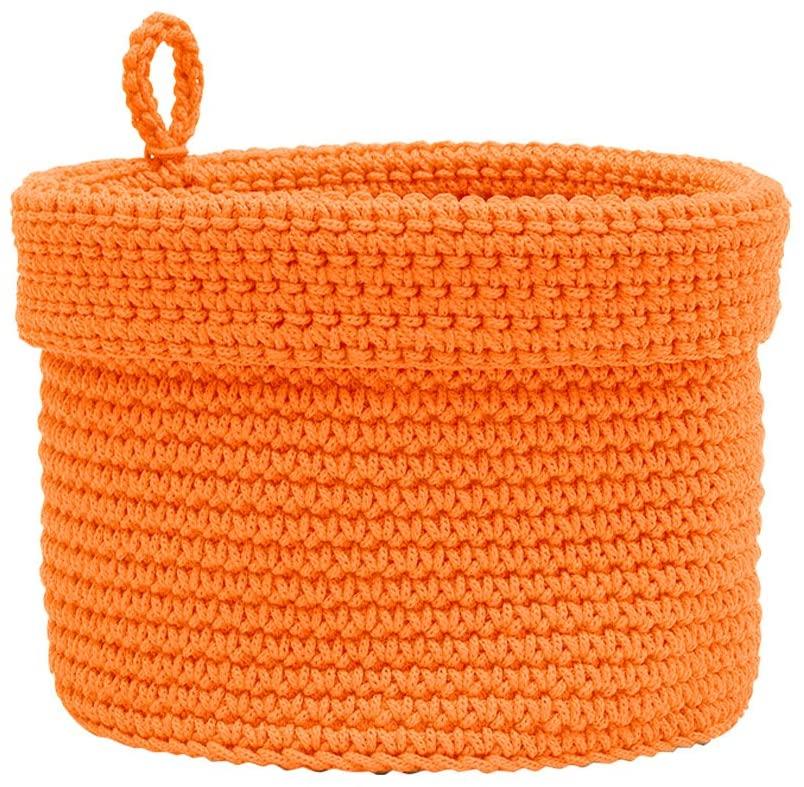 Heritage Lace Mode Crochet Round Basket