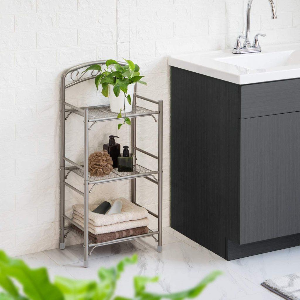 Home Zone Living Bath Storage Rack