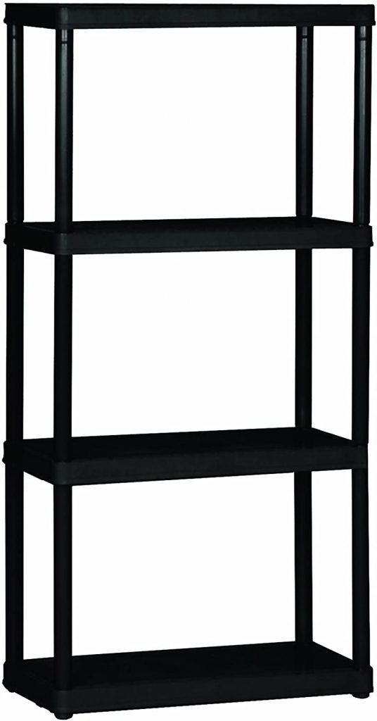 Gracious Living 4-Shelf Light Duty Shelf Unit