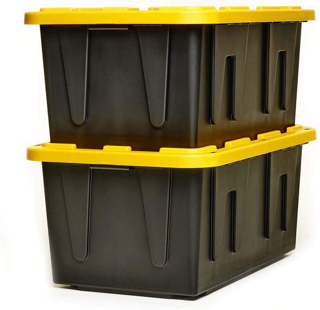 HOMZ Tough Durabilt Tote Box