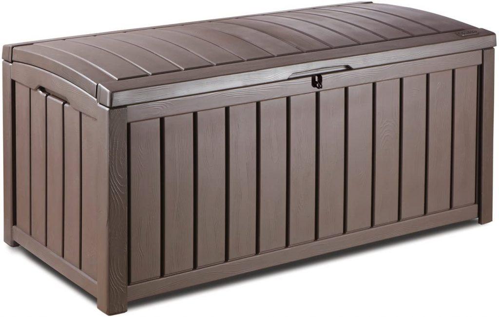 Keter Glenwood Plastic Deck Storage Container Box