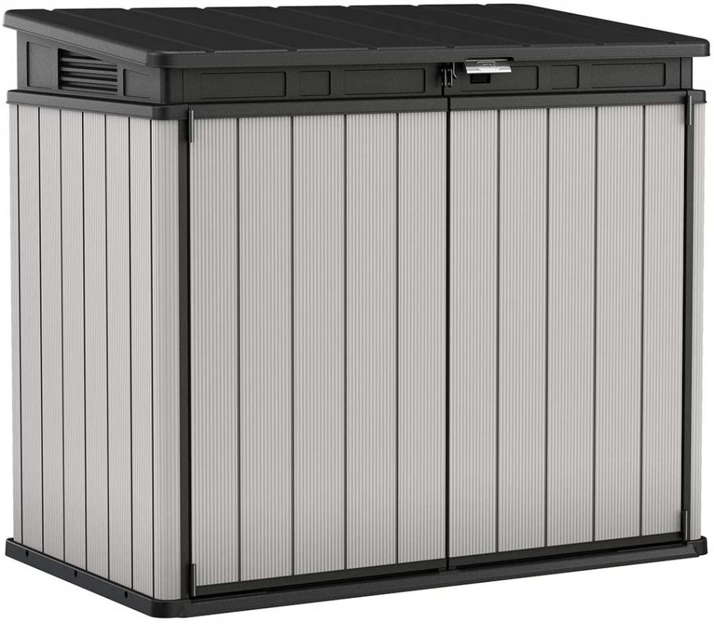 Keter 240790 Premier XL Resin Outdoor Storage Shed