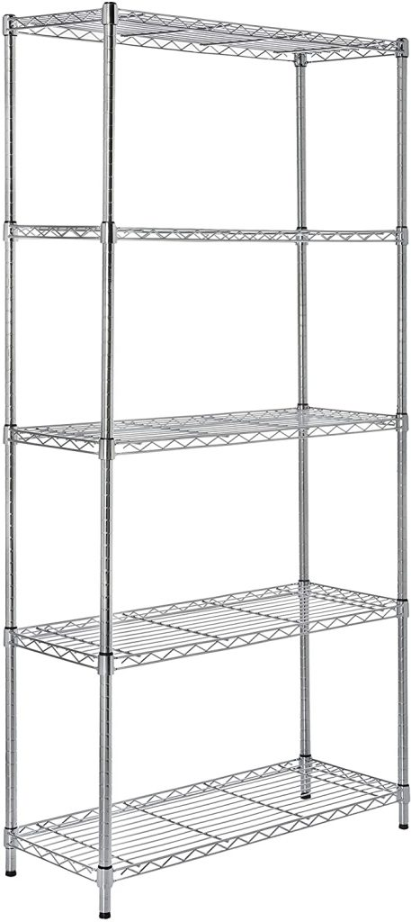 AmazonBasics 5-Shelf Shelving Storage Unit