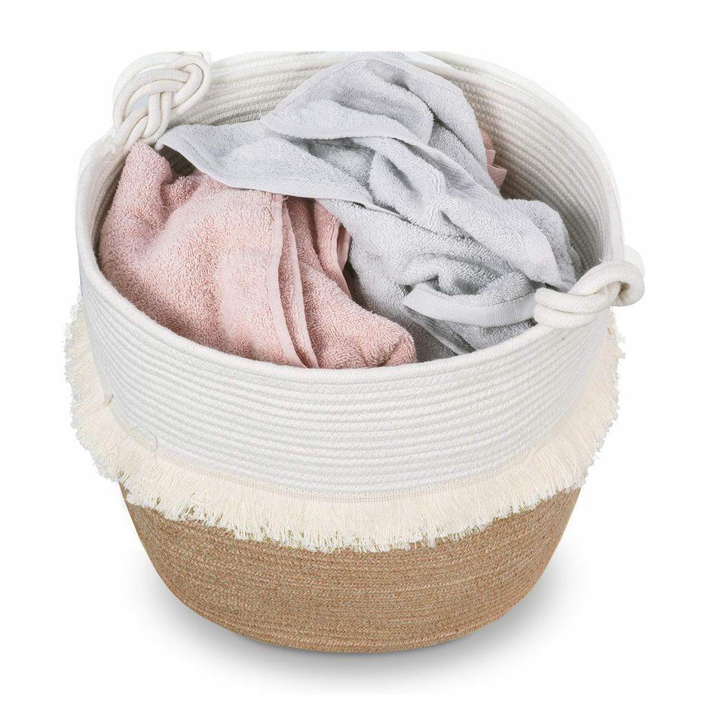 Large Woven Storage Baskets