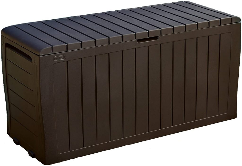 Keter Marvel Plus 71 Gallon Resin Outdoor Storage Box