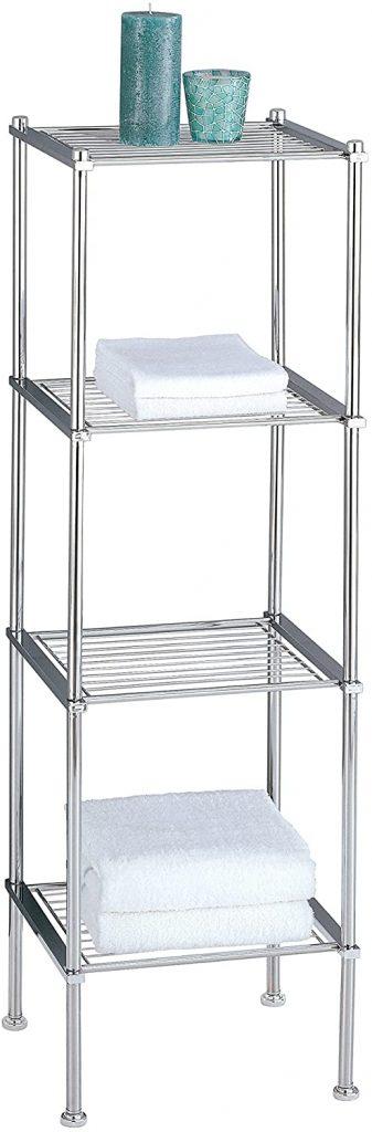 Organize It All Freestanding Bathroom Storage Shelf