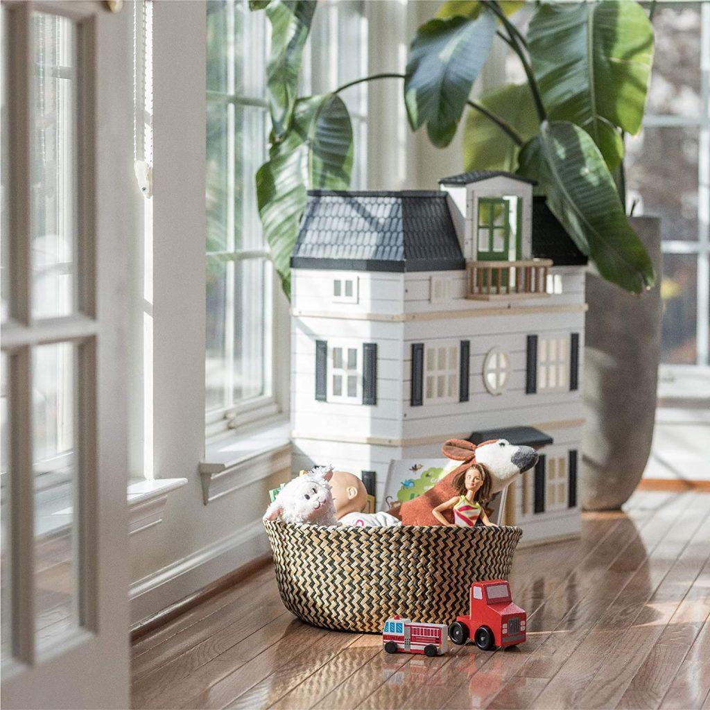 Sona Home Seagrass Basket
