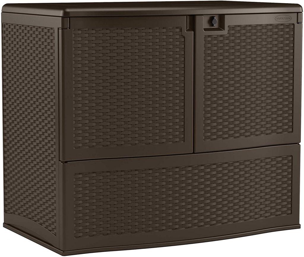 Suncast Resin Vertical Storage Box