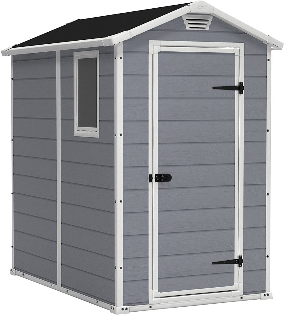 KETER Manor 4x6 Resin Outdoor Storage Shed Kit