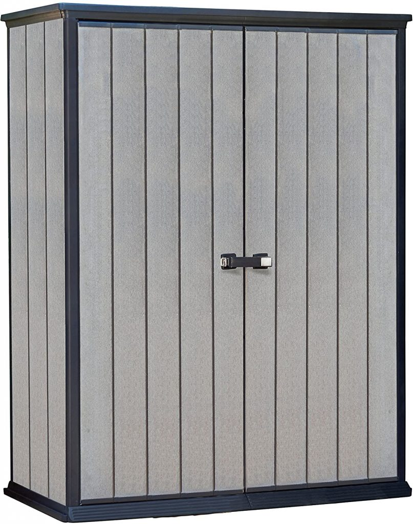 Keter High Store 4.5 x 2.5 Vertical Outdoor Resin Storage Shed