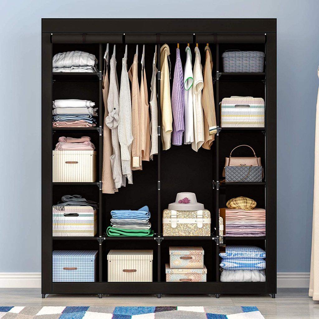 AOOU Portable Closet Organizer Storage