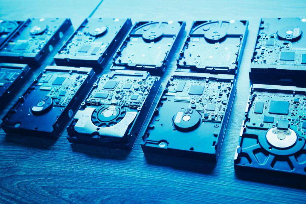 hard disk drives uses