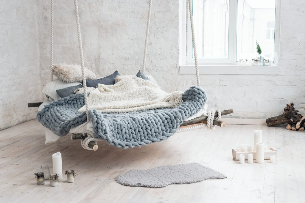 Flying bed