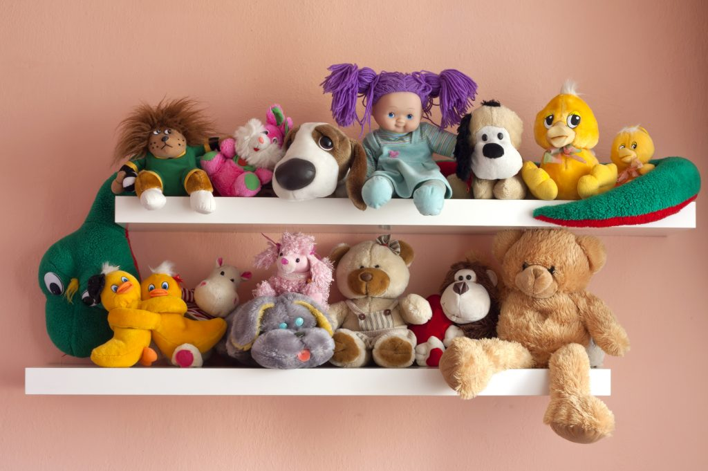 Choose Narrow Shelves For Books And Toys