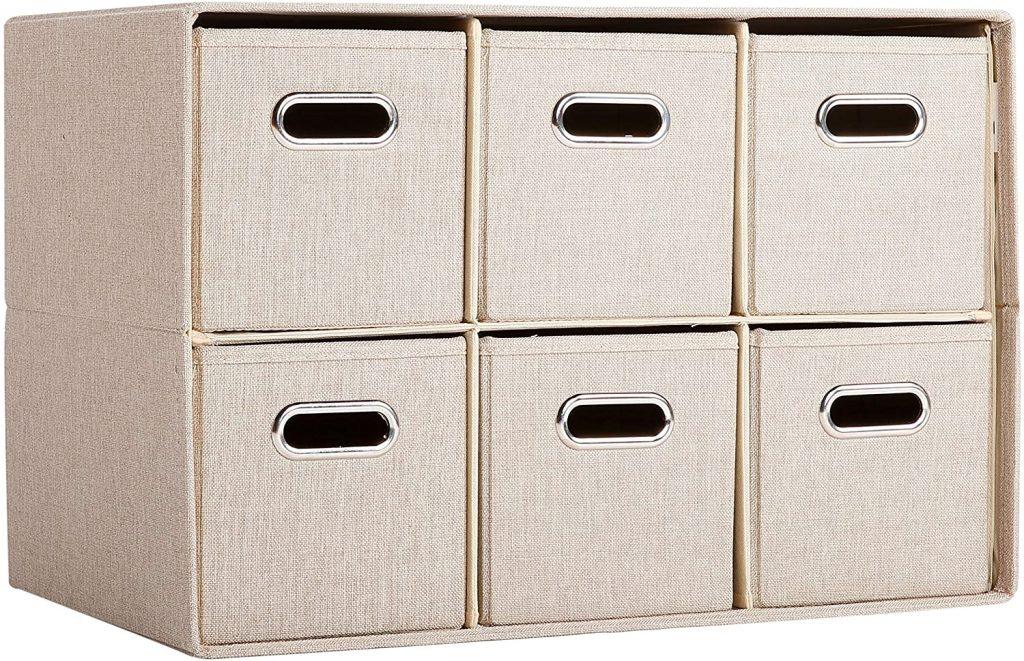 BIRDROCK HOME Cube Organizer Shelf