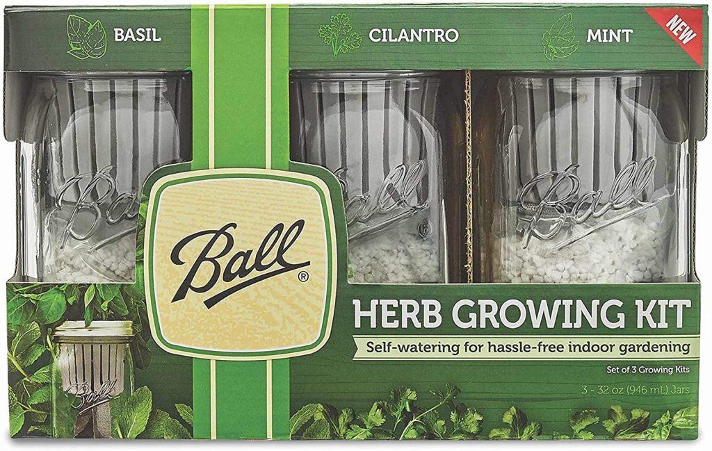 Ball Self-Watering Herb Growing Kit
