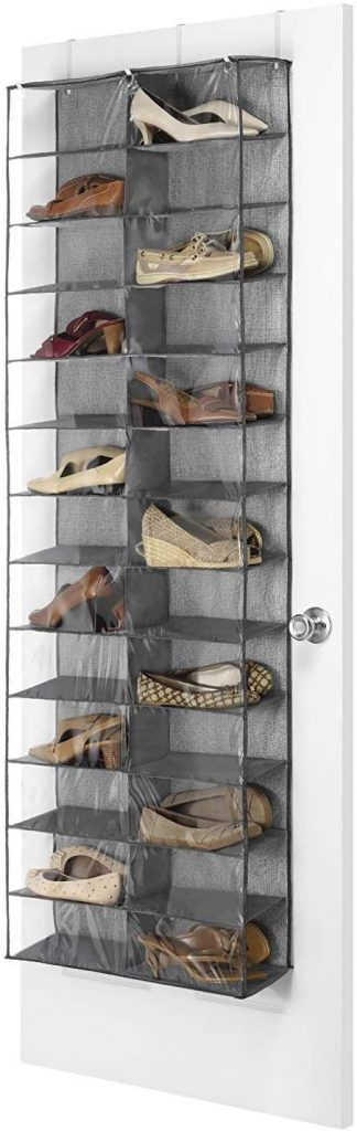 Beeiee Hanging Shoe Shelves Closet Organizer