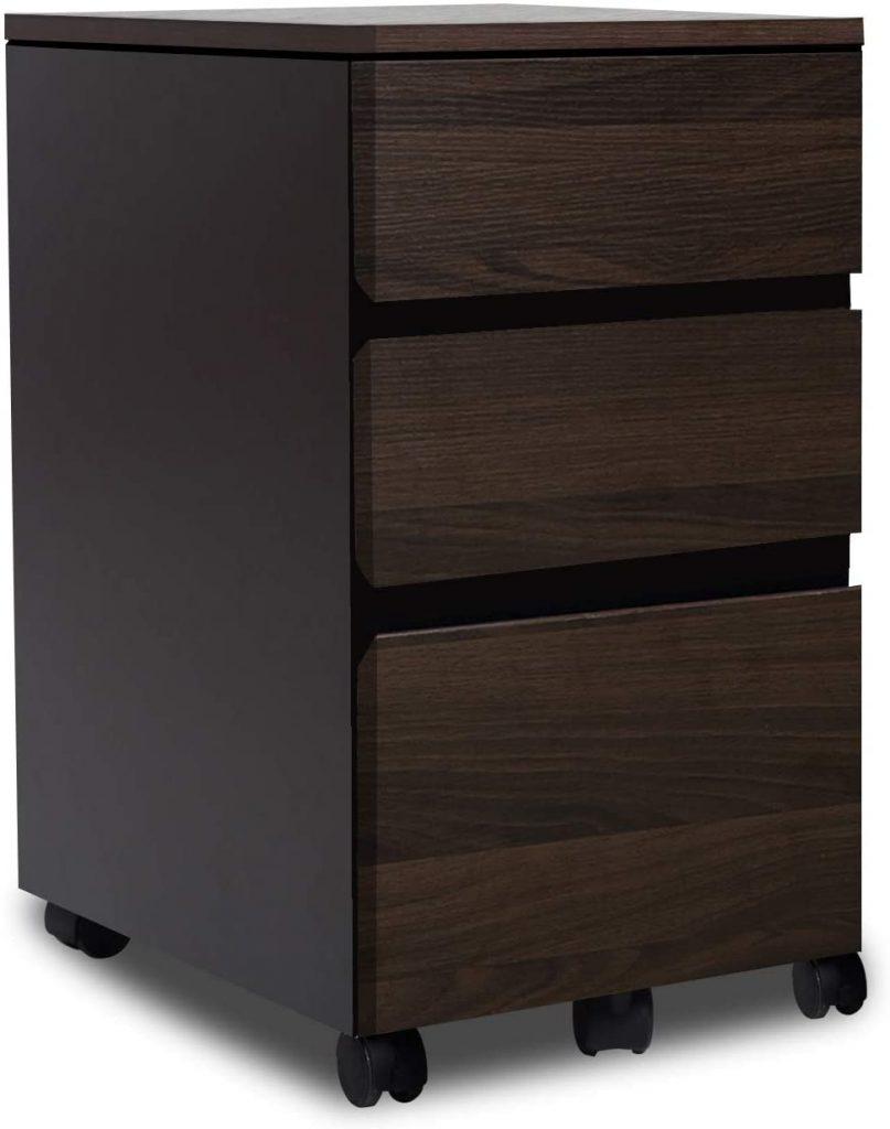 Bestier Desk Drawer Storage Cabinet