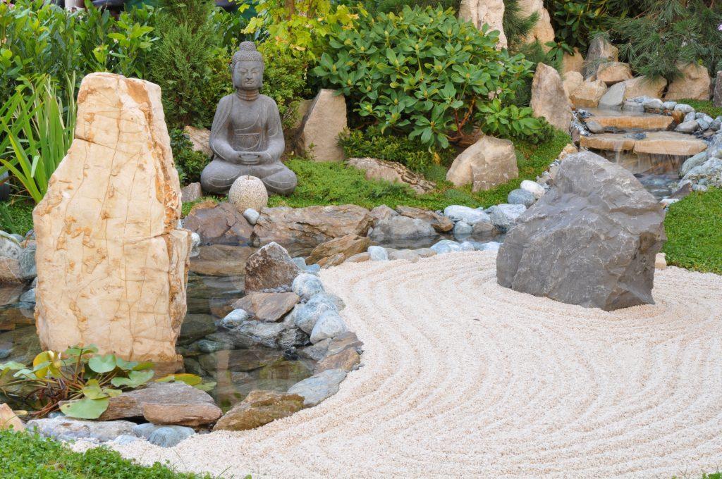 Buddha-Felsengarten
