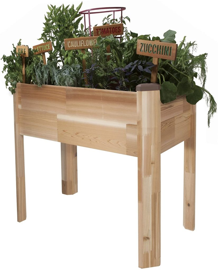 CedarCraft Elevated Cedar Planter