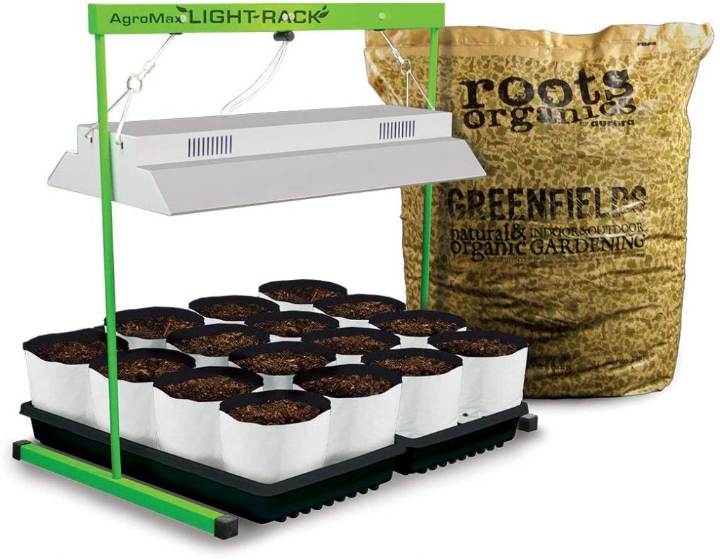 Complete Indoor Herb Garden Kit With Light System