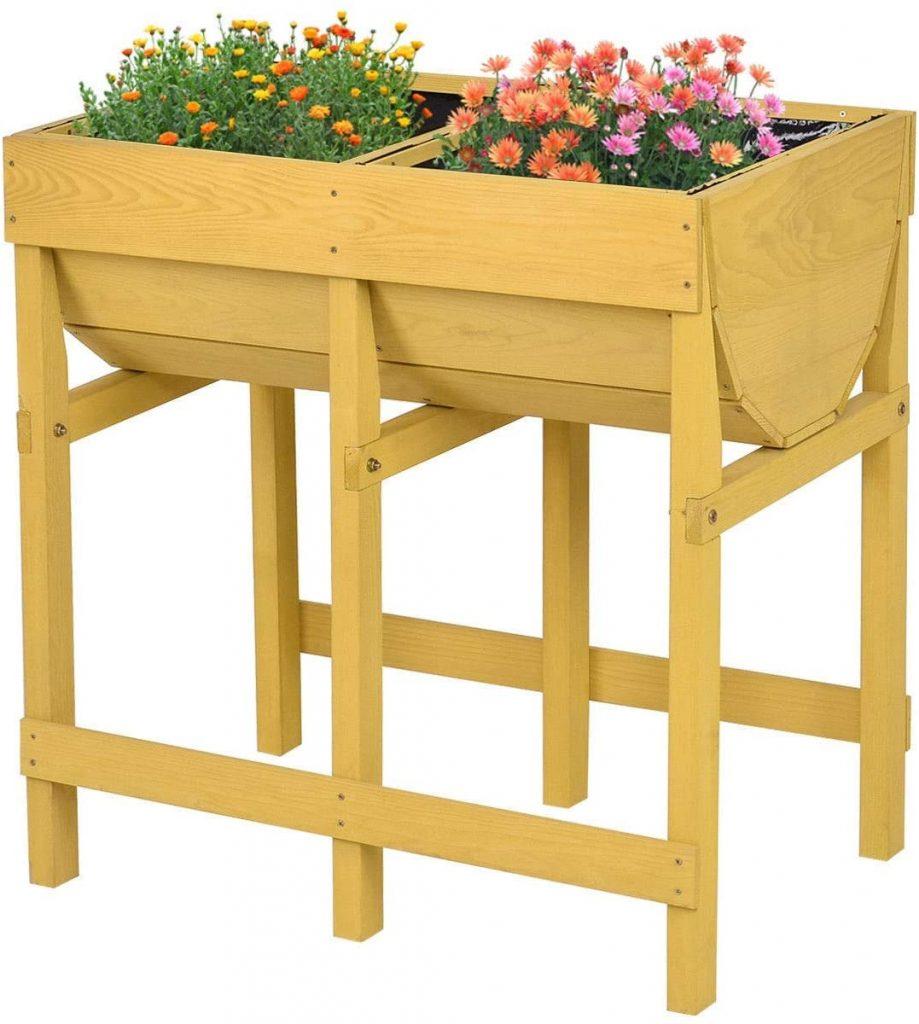 Cypress Shop Raised Planter Wooden Planter Box