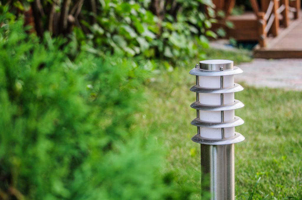 Garden post light