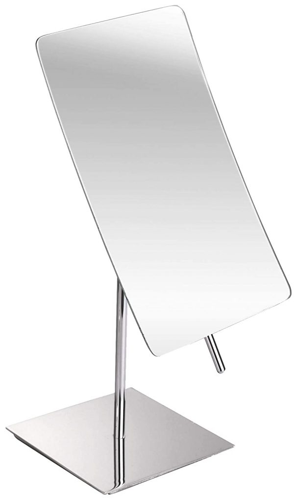 Hamilton Hills 5X Magnified Premium Modern Mirror