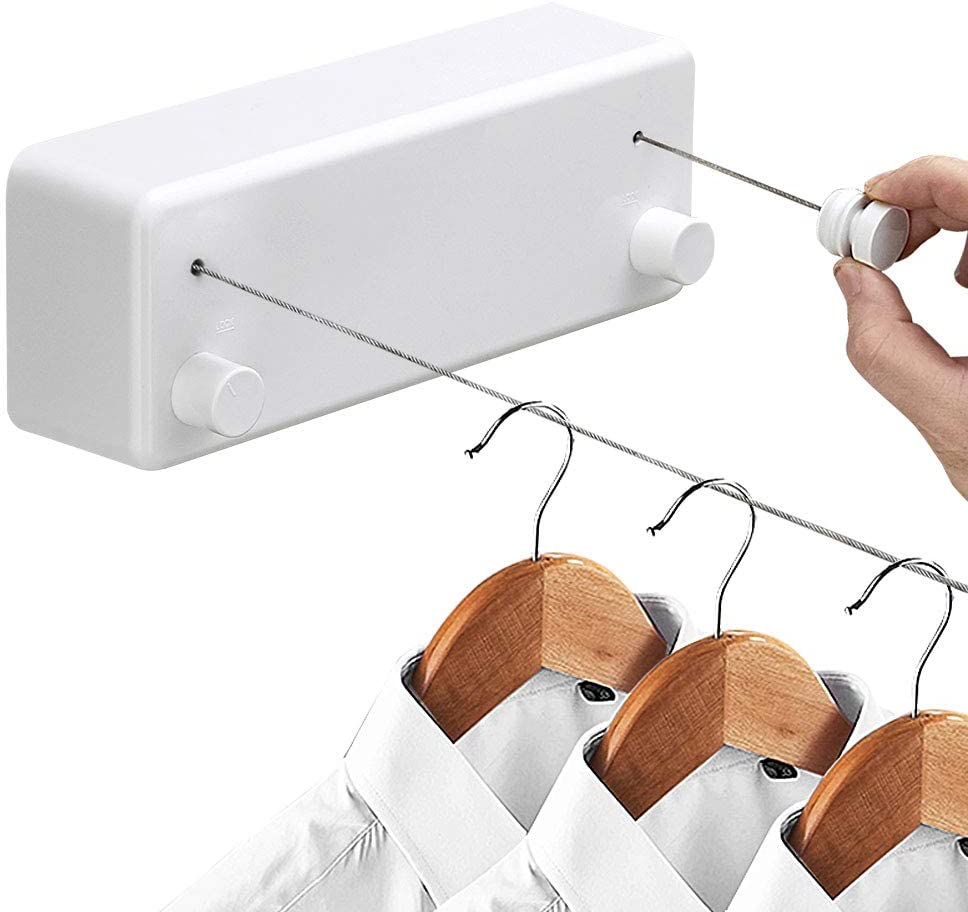 Hoimpro Retractable Clothesline