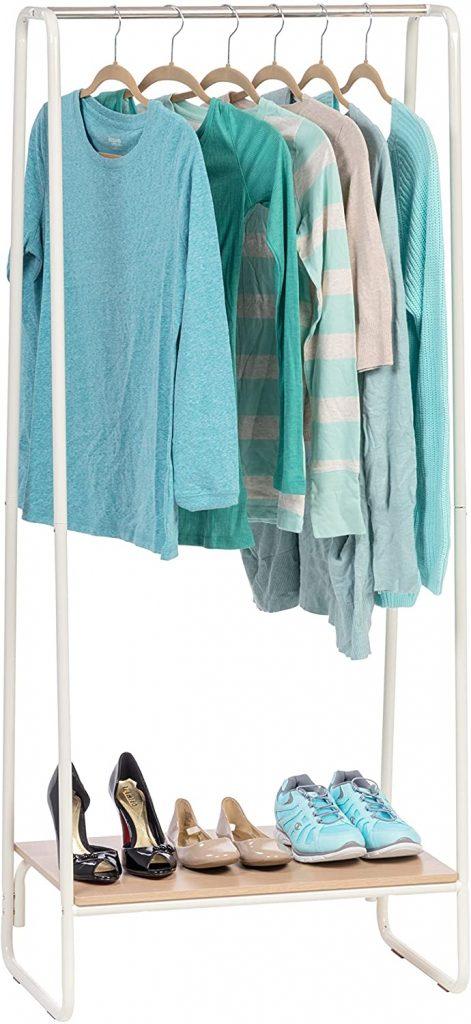 IRIS USA Metal Garment Rack