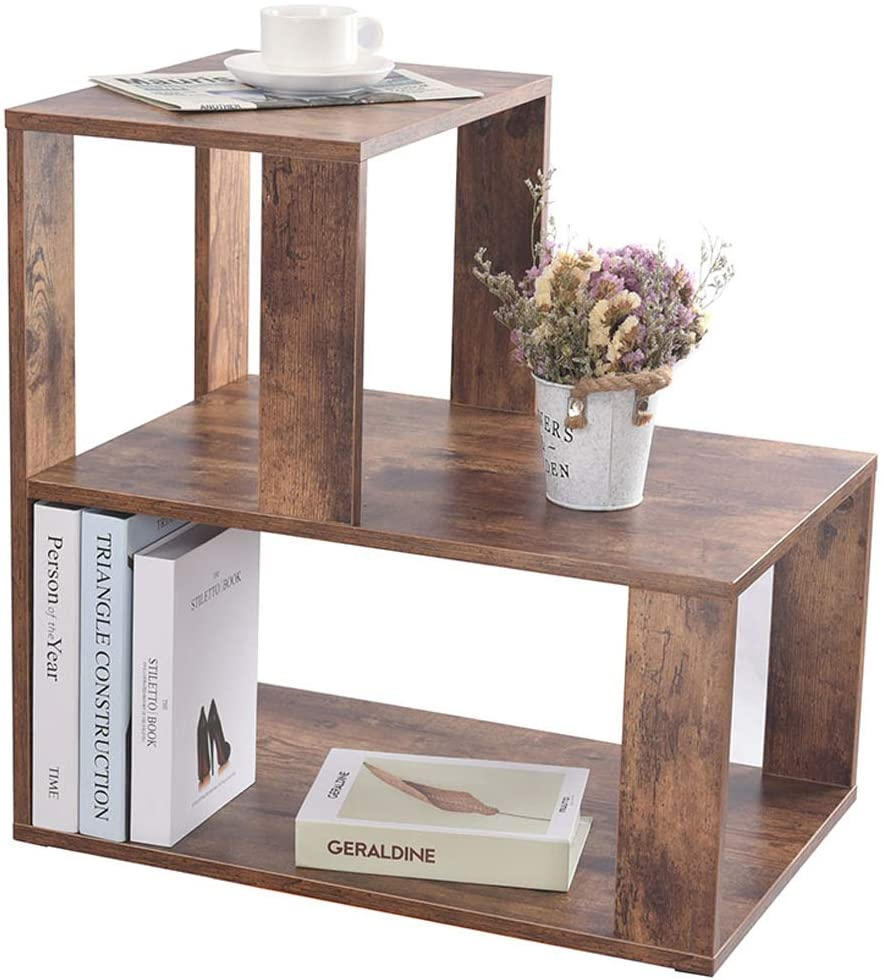 IWELL Rustic Large End Table