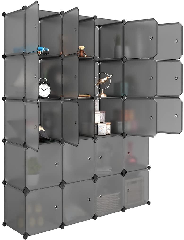 LANGRIA 20 Cube Organizer Storage Shelves