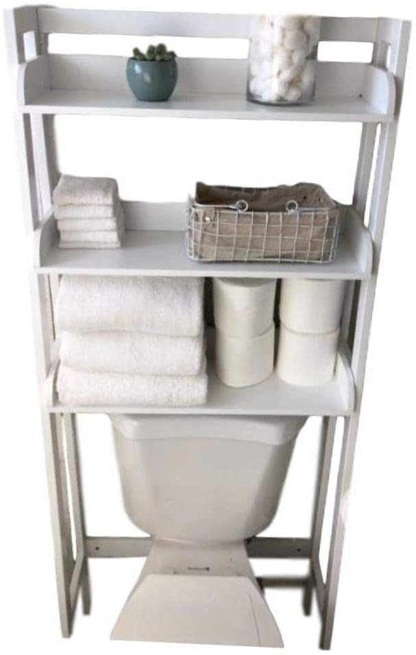 MSS Ladder Tier Bathroom Toilet Organizer