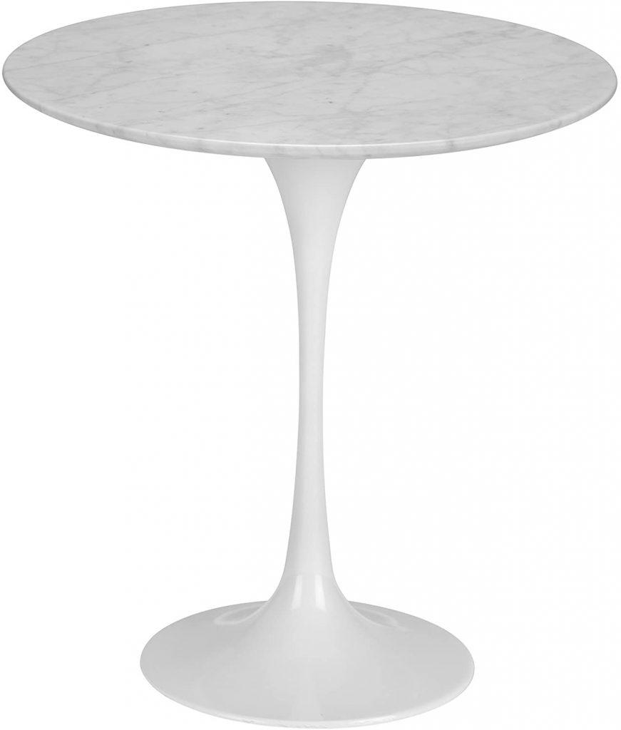 Poly Bark Daisy Marble Table