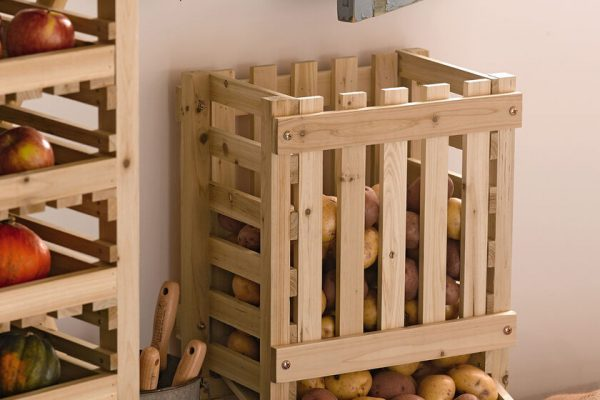 How To Build A Potato Storage Bin (100% Effective)