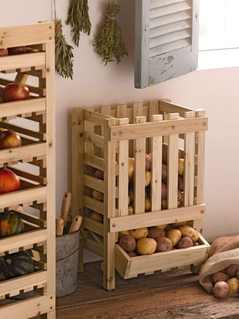 How To Build A Potato Storage Bin (100% Effective)